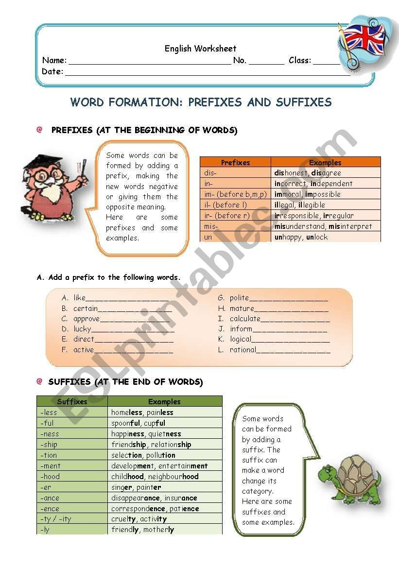 Grammar Guide And Exercises About Word Formation Prefixes And Suffixes Word Formation Words Prefixes And Suffixes [ 1169 x 821 Pixel ]