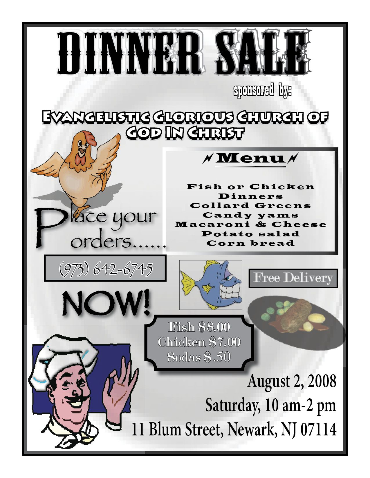 sample dinner flyers sales dinner sale taylor graphix flyers