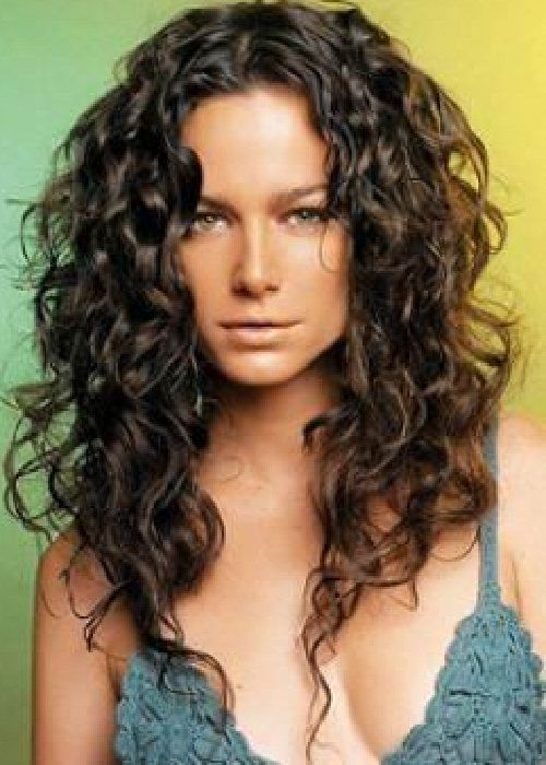 Natural Curly Hairstyles For Long Brown Hair 2013. I Want My Hair To Do  This. @Meaghan Remington Any Chance Of This Happening?