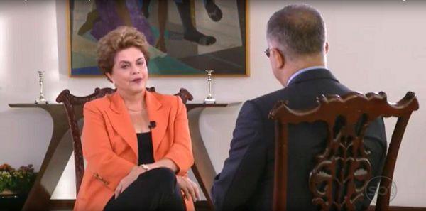 """Por Dentro... em Rosa: Dilma, no SBT : """"é claro que Temer e Cunha não fal..."""