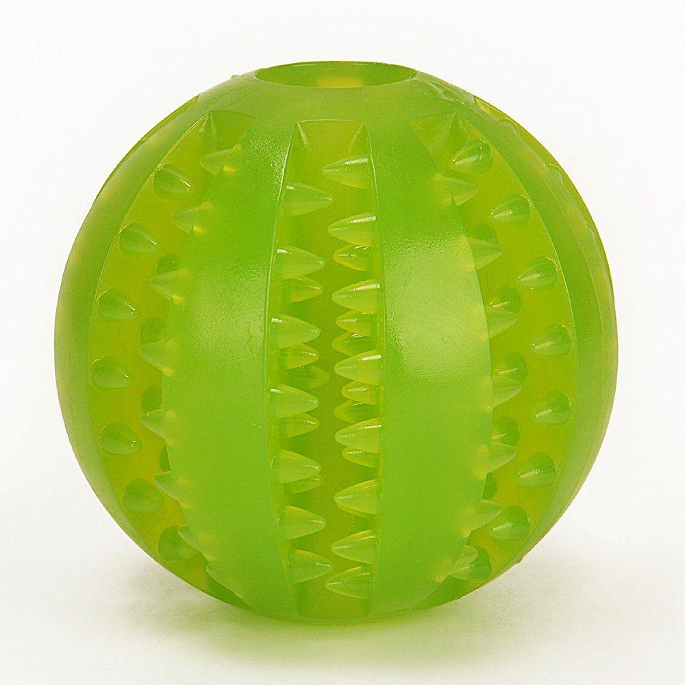 PaiPaitek Dental Treat Pet Toy Ball Chewing Training