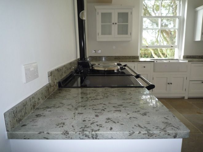 Granit Arbeitsplatten Verde Eucalypto    wwwgranit - granit arbeitsplatte küche
