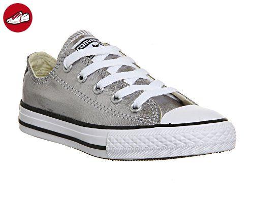 Converse Chuck Taylor All Star Season Ox, Unisex - Sneaker, Grau (ANTHRACITE), 31 EU