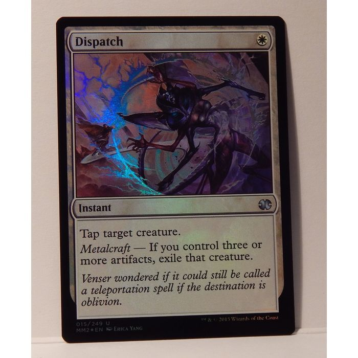 Dispatch Foil Mtg Modern Masters 2015 M Nm Magic The Gathering