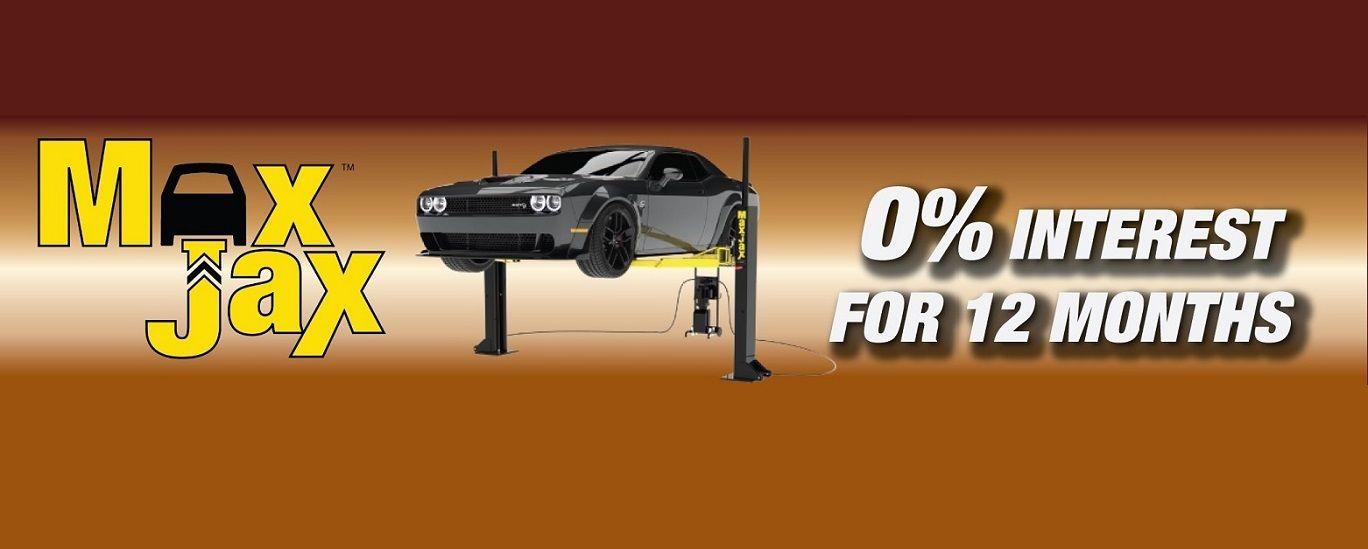 MaxJax Car Lift. Free Shipping. Taxless Shopping