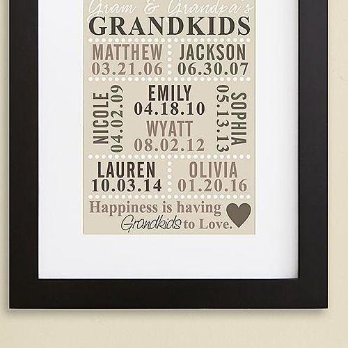 Our Grandkids Framed Print