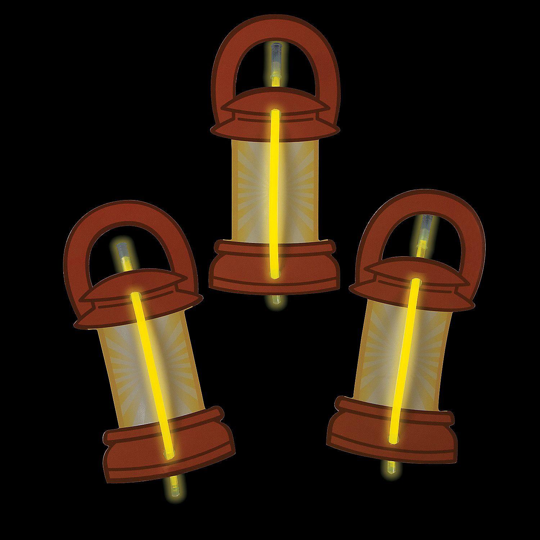 Glow Bracelets With Lantern Card