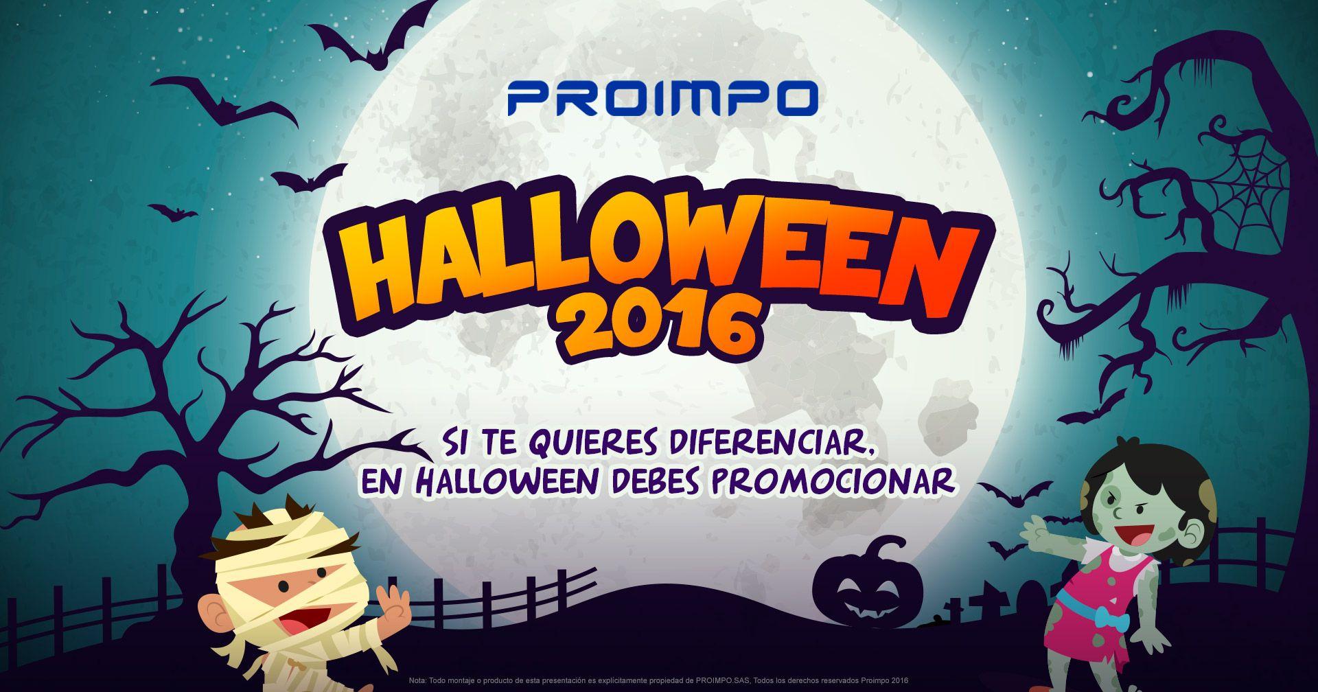 Halloween proimpo. Productos Promocionales