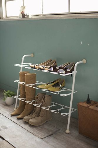 Rakuten: Leaning shoes rack rings white- Shopping Japanese products from Japan  #rakuten #entryway  $49.55