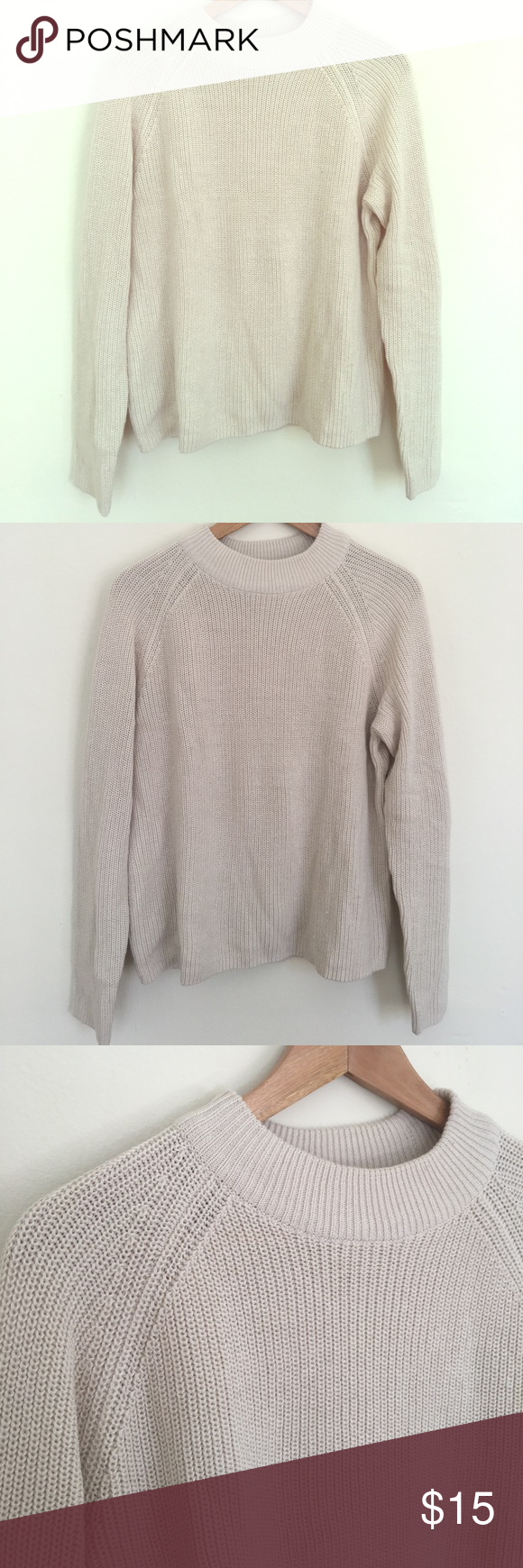 Cream Turtleneck from H&M Cream colored Turtleneck sweater from ...