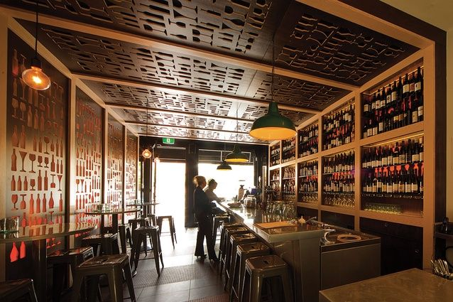 Hospitality Design Wine Library by Phi Design and Architecture
