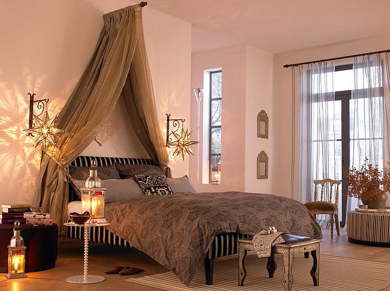 Oriental Baldachin 1001 Nights Orientalisches Schlafzimmer