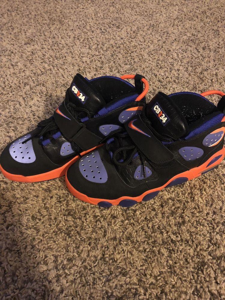 sports shoes 9cc37 2b8e8 Nike CB34 Charles Barkley 11 Black Orange Purple  fashion  clothing  shoes   accessories  mensshoes  athleticshoes (ebay link)