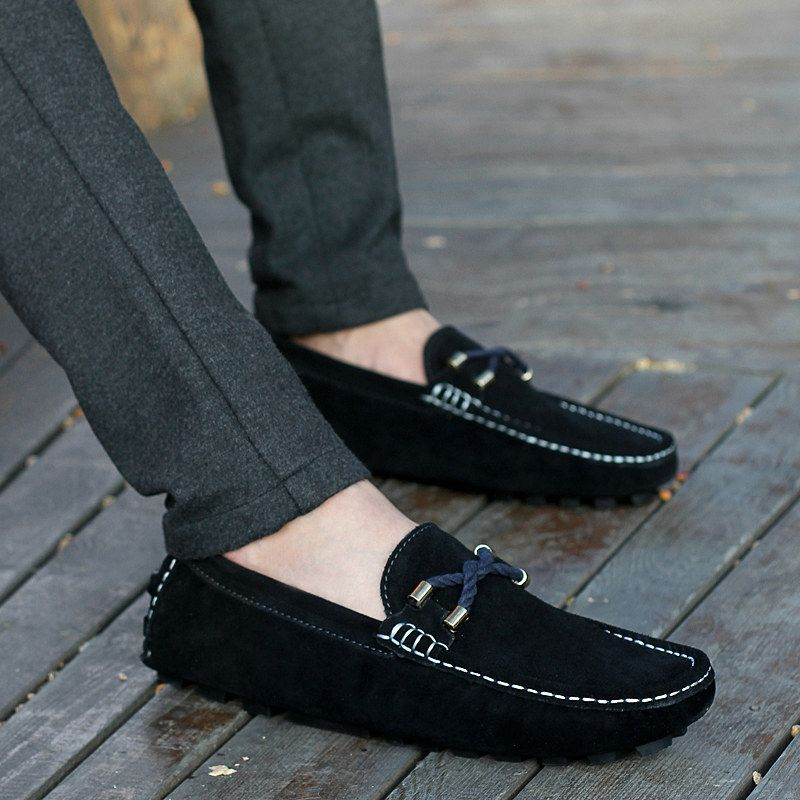 Mens casual leather shoes, Loafers men