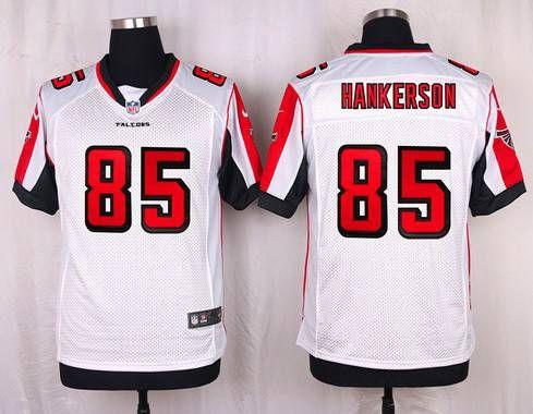 b3dd5ca95 Atlanta Falcons  85 Leonard Hankerson White Road NFL Nike Elite Men s Jersey