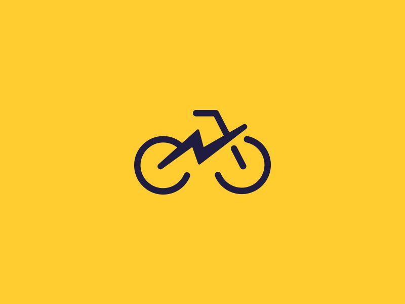 E Bike Logo Concept Bike Logos Design Bike Logo Logo Concept
