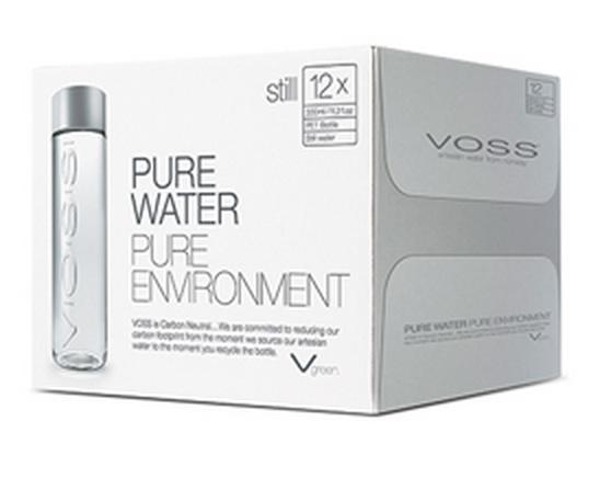 VOSS Artesian Water | Recipes | Voss water bottle, Voss