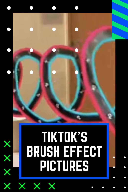 Tiktok S Brush Effect Has Strange Pictures Inside Weird Pictures Creepy Images Strange Photos