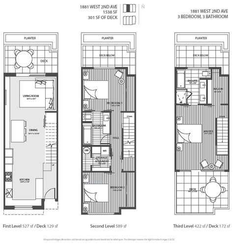 3 level vancouver luxury home floor plan house pinterest 3 level vancouver luxury home floor plan malvernweather Choice Image