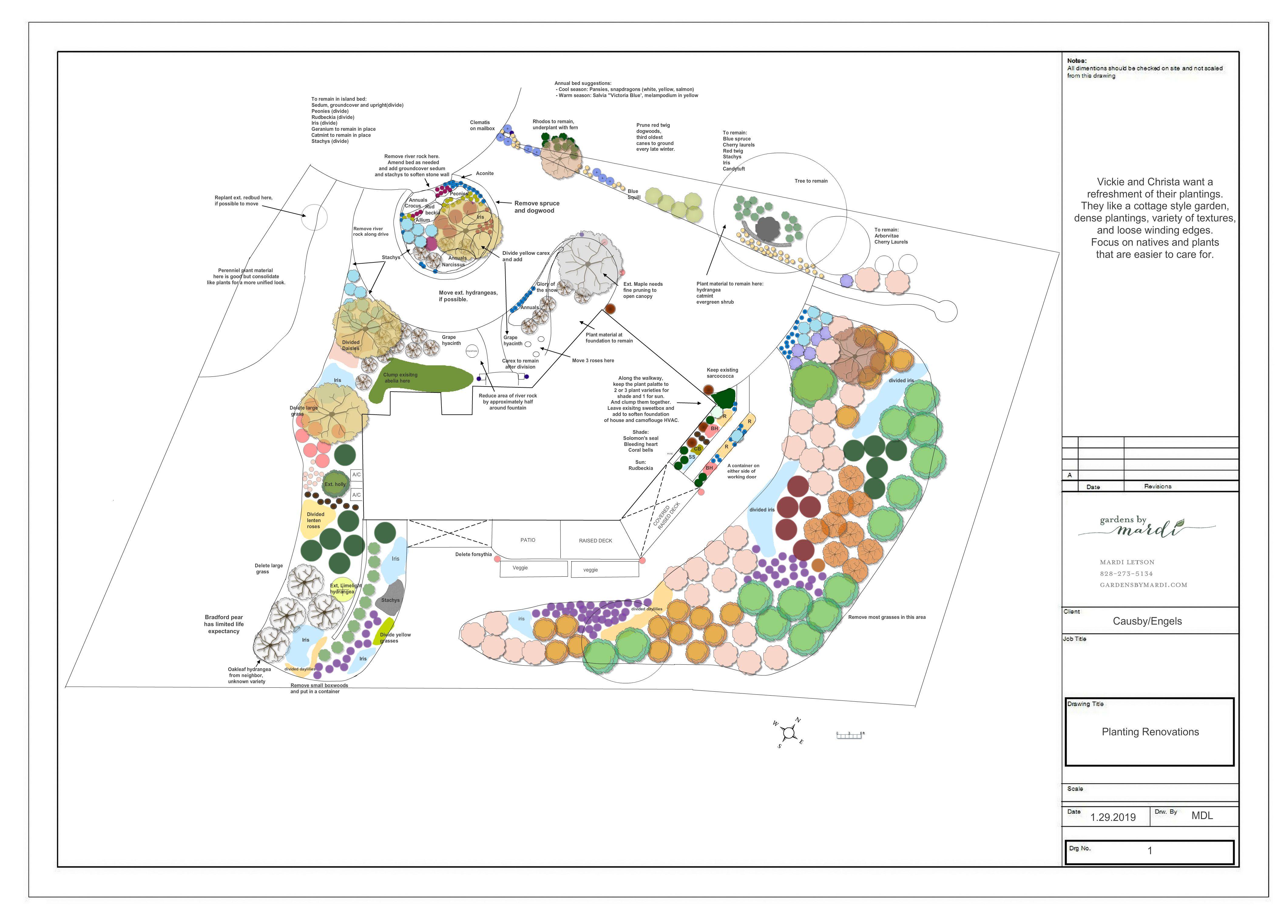 Planting Plan Planting Plan Garden Design Plans Garden Design