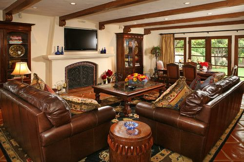 Spanish Living Room Design Ideas, Pictures, Remodel, And Decor