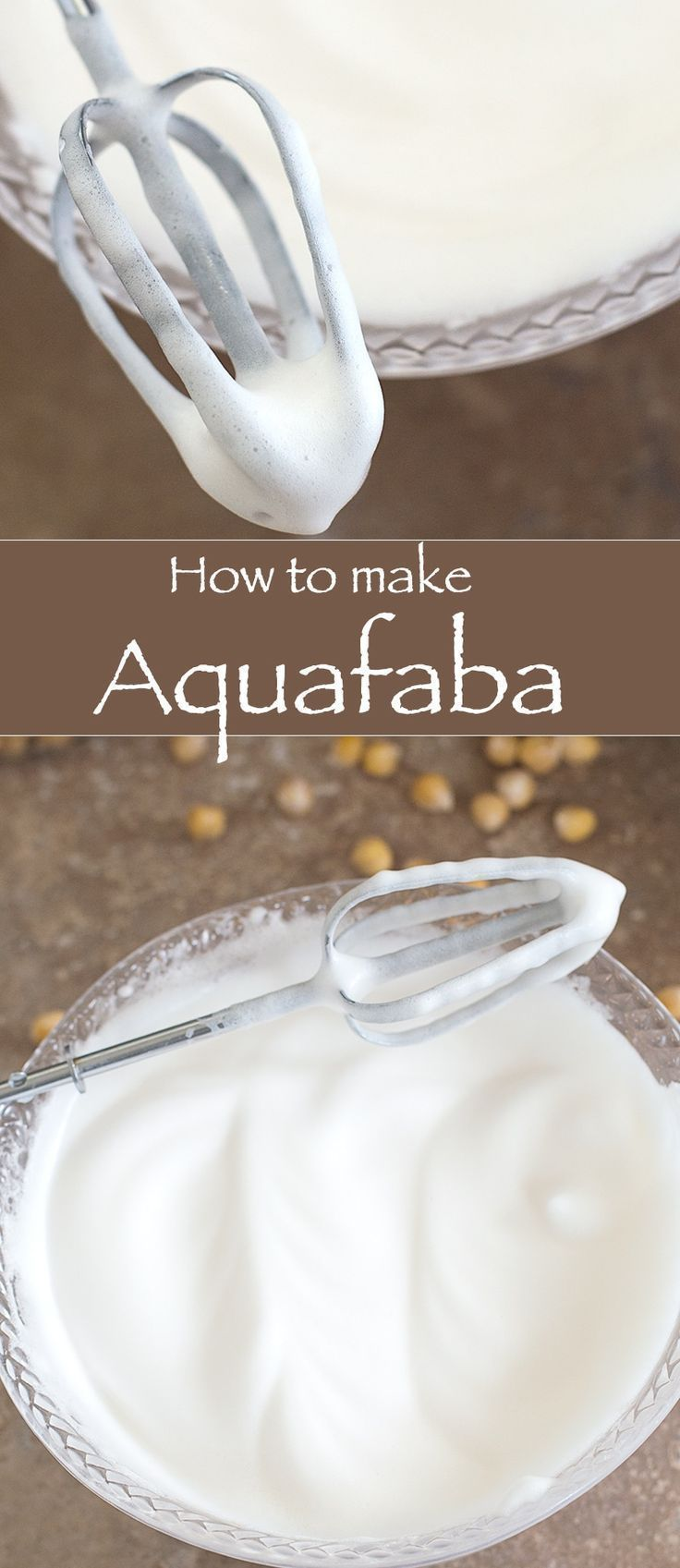 To Make Aquafaba How to Make Aquafaba? This is the Simplest Vegan Product You Can Make. It Is The Greatest Food Discovery Since the Waffle Cone! Vegans swear by it as it's the perfect base for an endless number of desserts and other foodie staples such as: Meringue, Mousse, Frosting, Mayonnaise, Whipped Cream, Macarons, Marshmallows. |