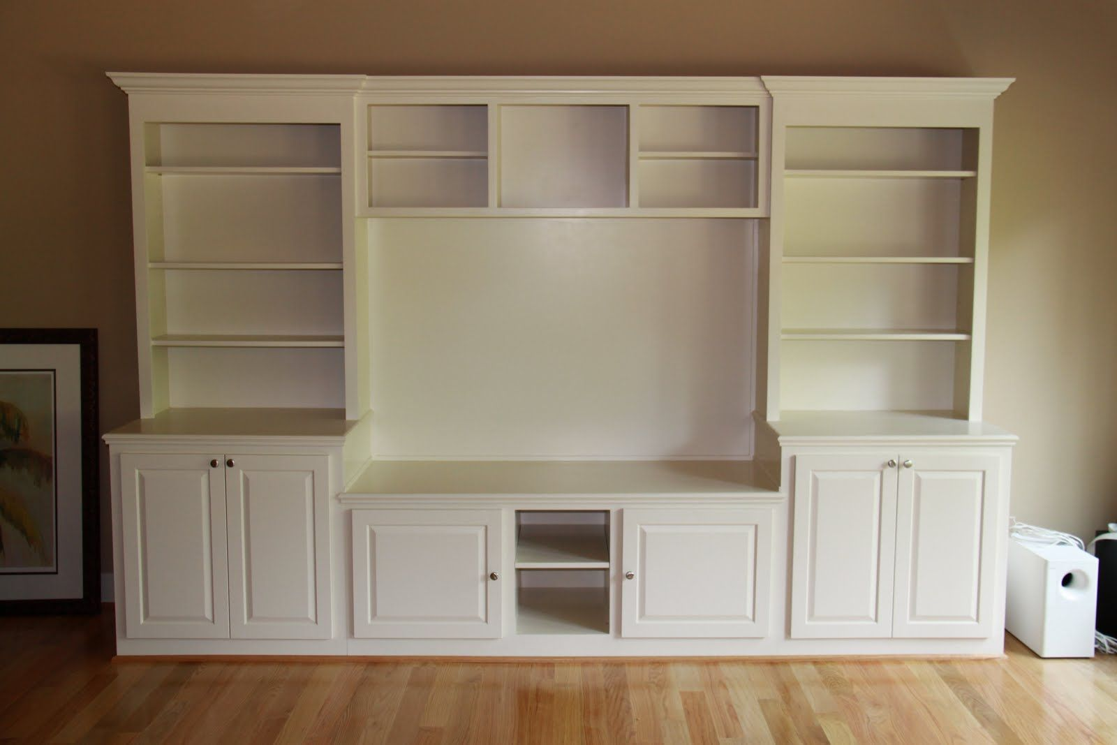 Entertainment Center From Kitchen Cabinets Entertainment