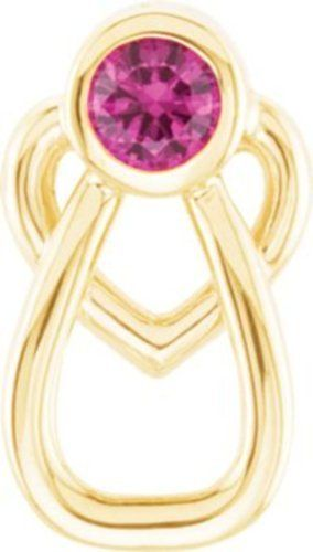 With Me Always Angel Heart Lapel Pin in 14k Yellow Gold Bonyak Jewelry. $81.78. Avg. Item Weight: 0.81 grams. JULY. 14k Yellow Gold