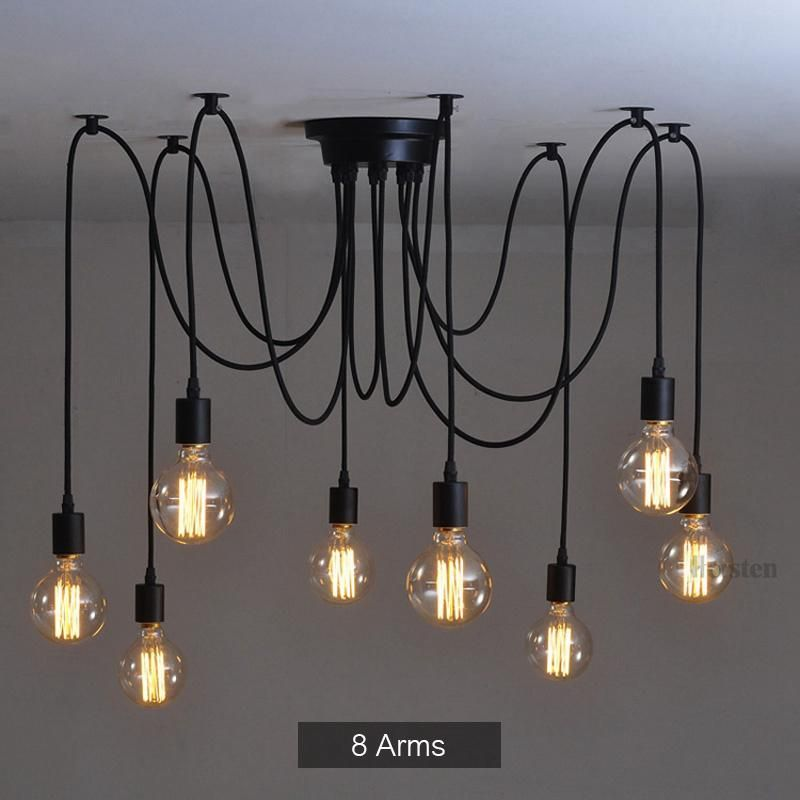 Industrial Spider Chandelier Pendant Light | Ceiling lamp