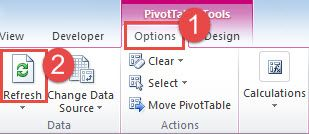 3 Different Methods To Refresh Pivot Table When The Source Worksheet Data Are Updated Pivot Table Data Worksheets