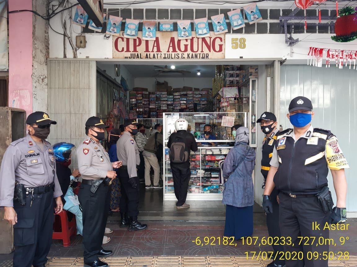 Polsek Astanaanyar Laksanakan Patroli dan Himbauan
