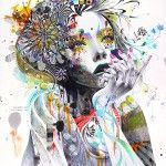 Artwork by 23-year-old Minjae Lee, South Korean illustrator and painter, currently working in Seoul.