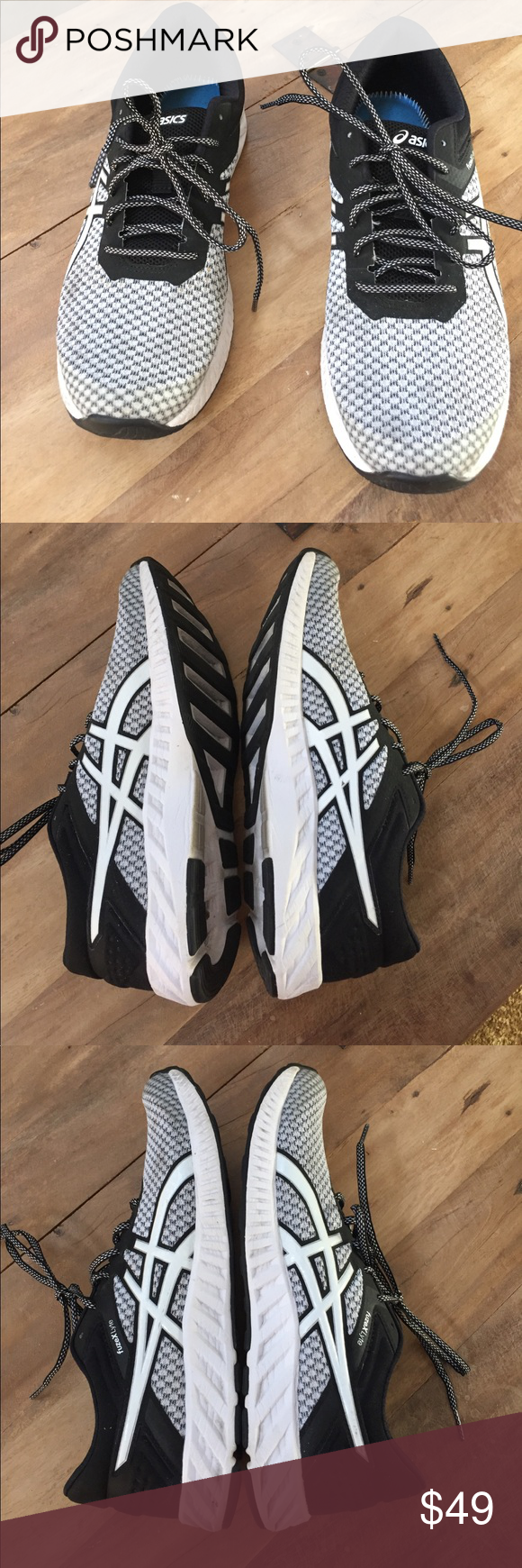 timeless design abfb8 fb3eb ASICS FUZEX LYTE 2 LIGHTWEIGHT RUNNING SHOE Brand new condition only worn a  handful of times