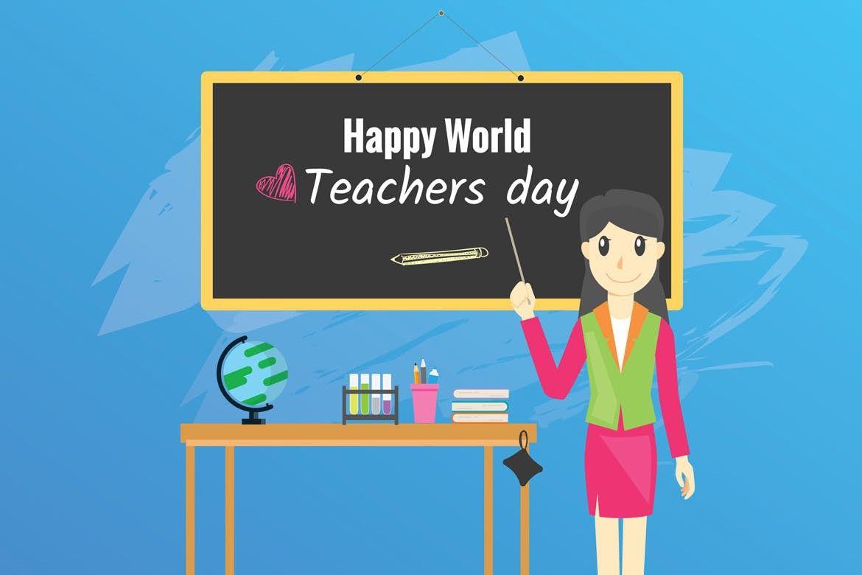 Happy Teachers Day Background Happy Teachers Day World Teacher Day Teachers Day