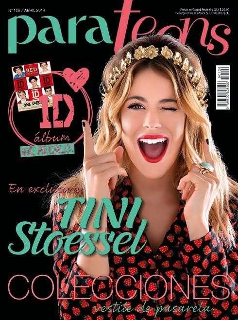 Martina Stoessel for Para Teens Magazine, Argentina, April 2014