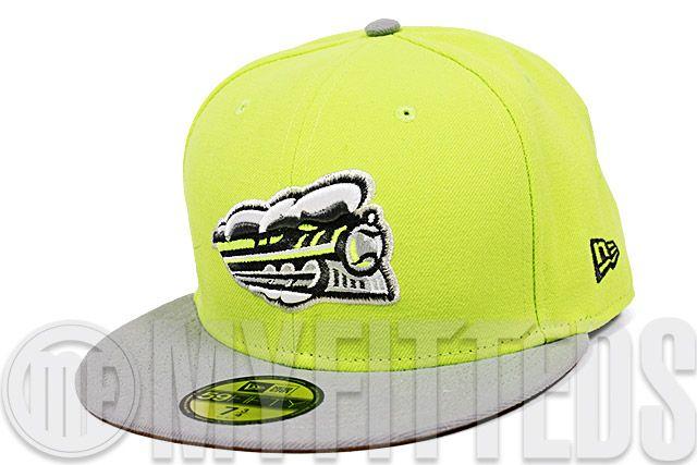 4e9ef934f1fda Syracuse Chiefs High Voltage Evolution Grey Silver Wheat LeBron XI Maison  du LeBron New Era Fitted Hat