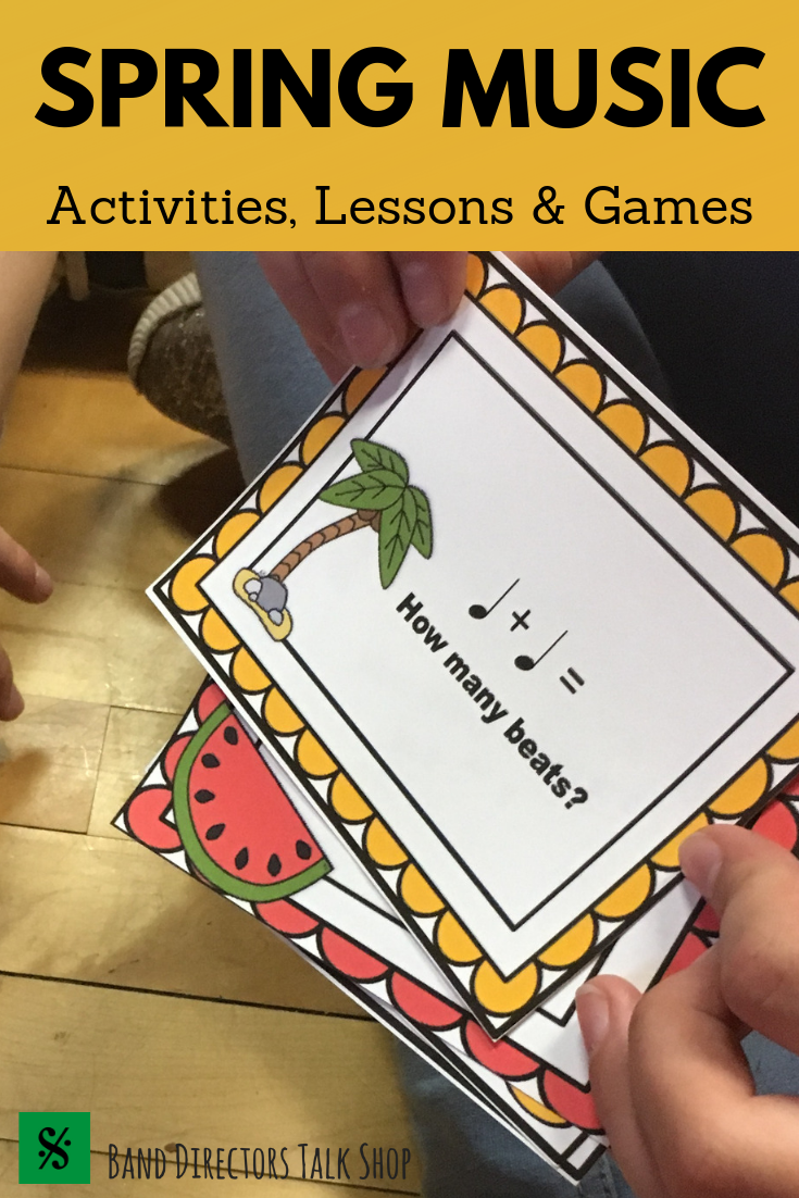 Spring Music Activities & End of Year Music Games BUNDLE | Spring