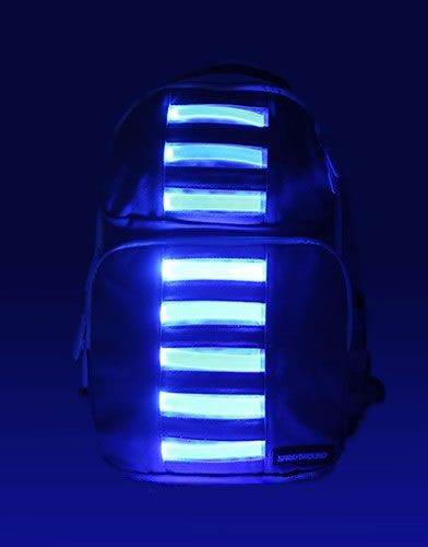 Bag To The Future Light Up Led Duffle Backpack Are Futuristic Backpacks Bags Duffle