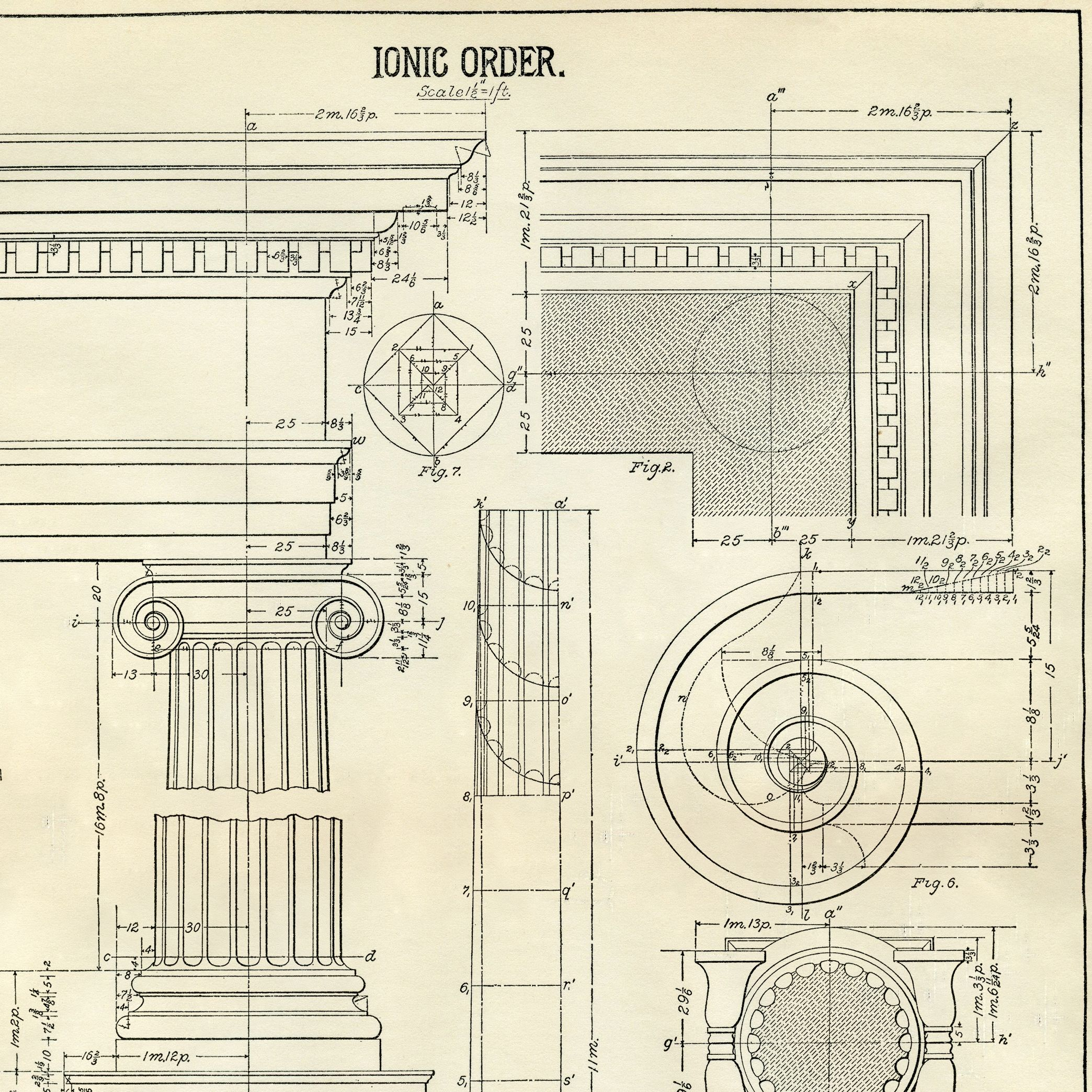Architecture Printable Ionic