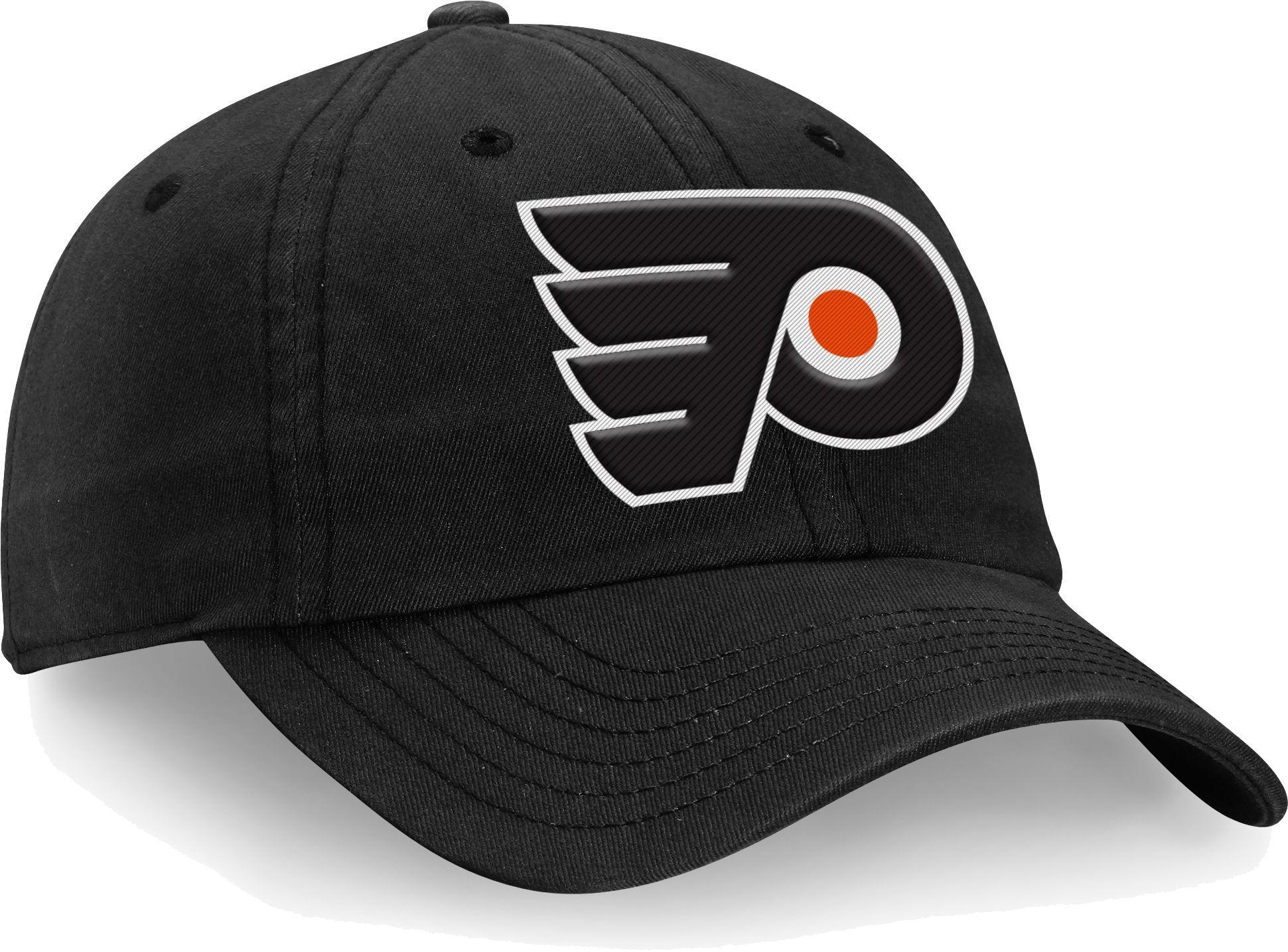 2b980bb6 NHL Men's Philadelphia Flyers Alternate Jersey Black Adjustable Hat ...