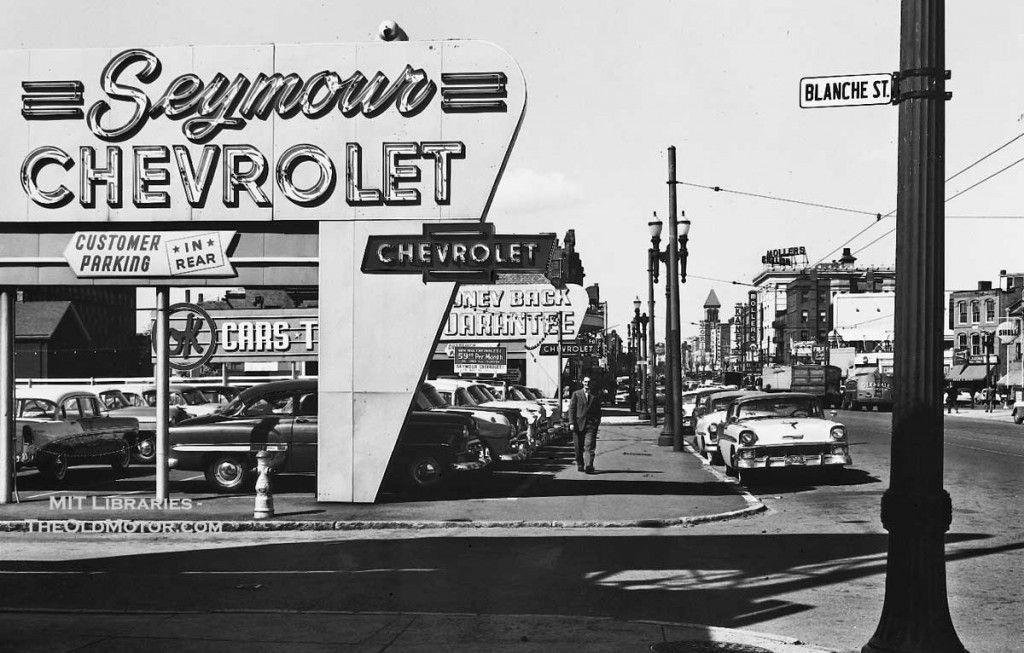 1950's Seymour Chevrolet Dealership, Cambridge