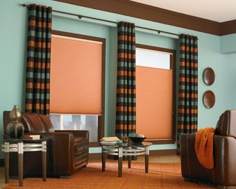 Roller Shade with Draperies