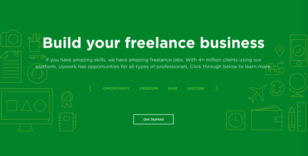 UpWork on FreeStack Collection of Free Design Tools