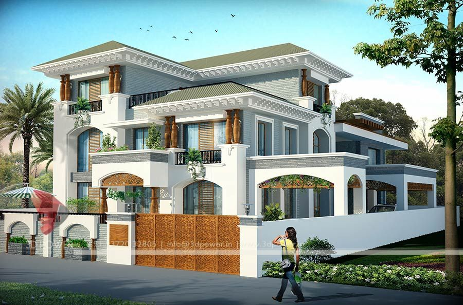 Marvelous Best Indian Bungalow Design #3: Modern Bungalow Design