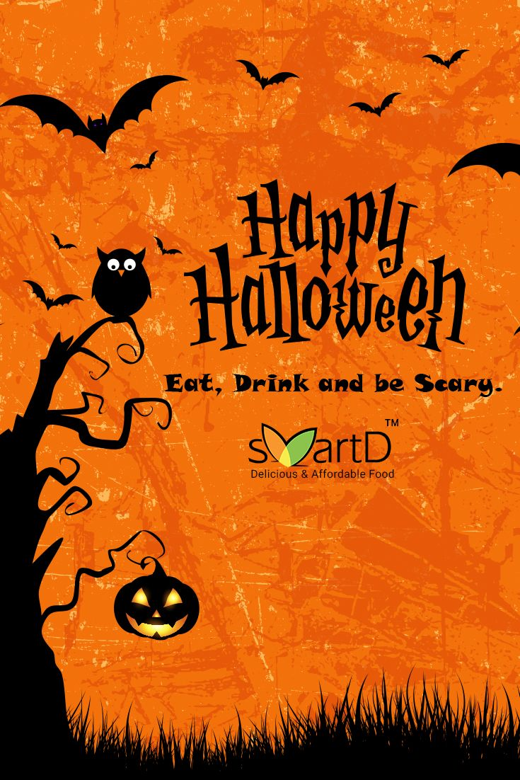 SmartD wishes you all a happy halloween!!! Time to be