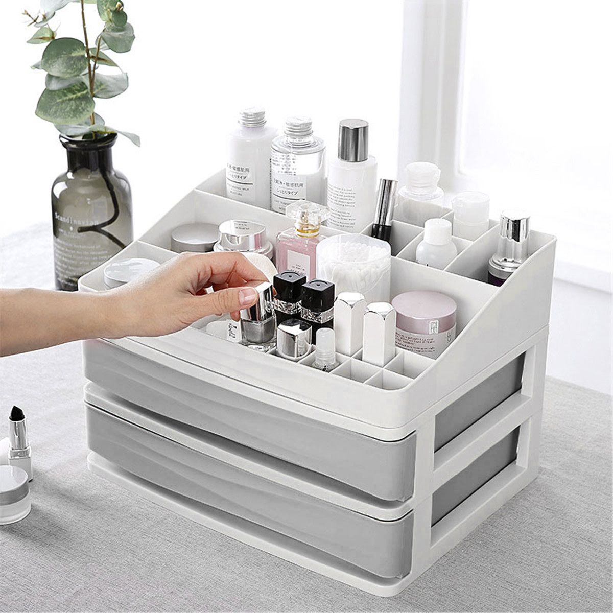 Beauty In 2020 Makeup Storage Drawers Makeup Storage Box