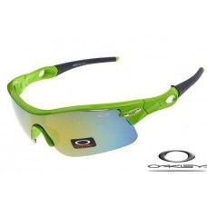 2f3e956ae4ed5 Oakley Radar Pitch Sunglasses Green Polishing Frame   Fire Sky Lens ...