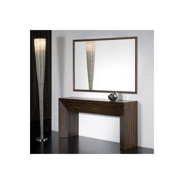 comprar online cnsola y espejo opcional axil de kendo mobiliario