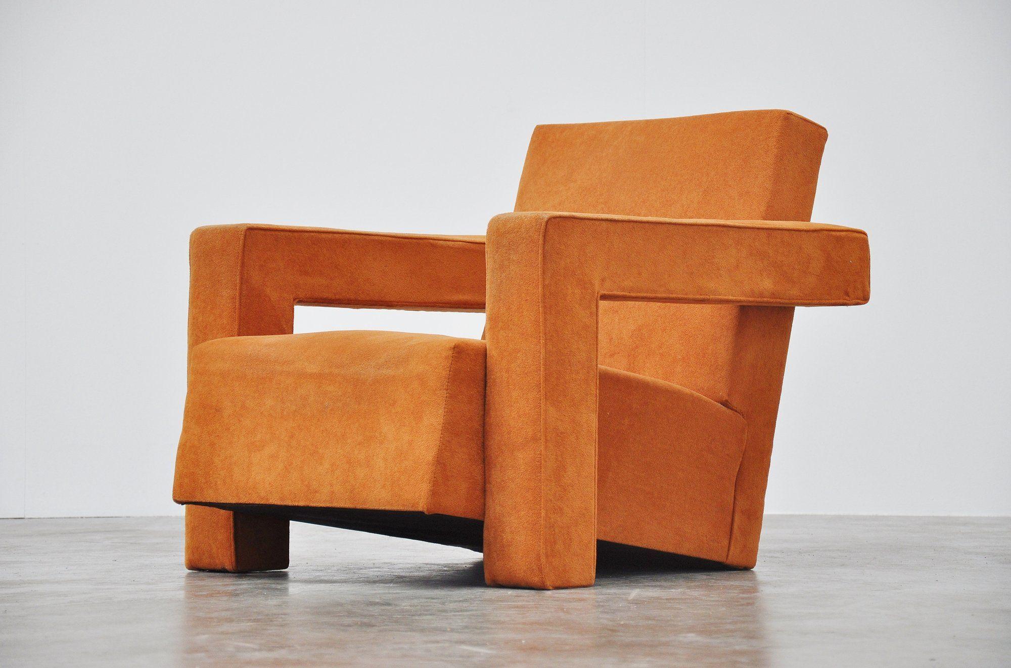 Gerrit thomas rietveld utrecht chair for metz co 1935 for Bauhaus design stoelen