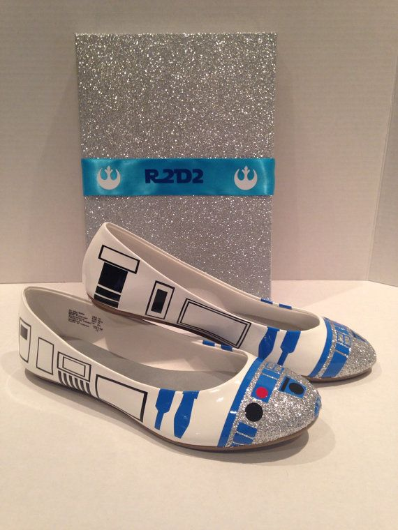 R2droid Flats by OrionsOriginals on Etsy